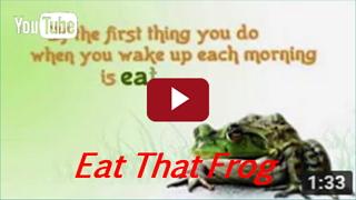 brian tracy slik de kikker eat that frog uitstellen uitstelgedrag productieve ochtend dag