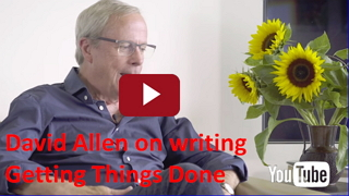 David Allen on writing Getting Things Done