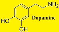 dopamine drug molecuul