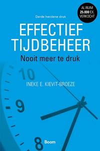 Effectief tijdbeheer Ineke Kievit Broeze boek e-book