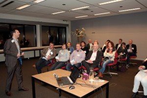 Lezing time management door Eric van den Heuvel