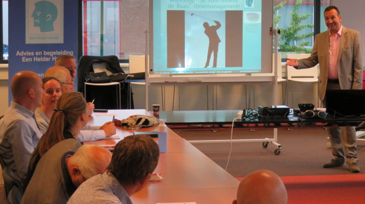 in-company training Professioneel Timemanagement team cursus in-house op locatie op kantoor