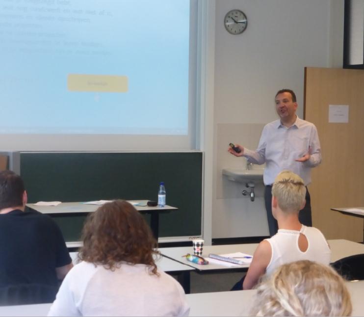 Cursus time-management door Eric van den Heuvel van Een Helder Hoofd
