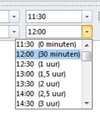 Vergadertips Outlook blokken met tijd halve en hele uren is niet effectief. Vergaderingen beter plannen.