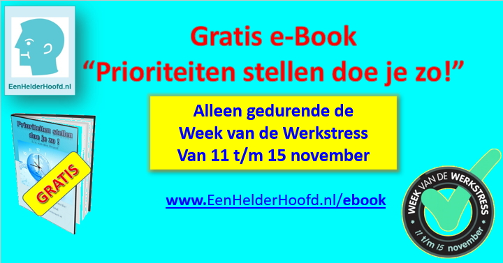 week van de werkstress november 2019