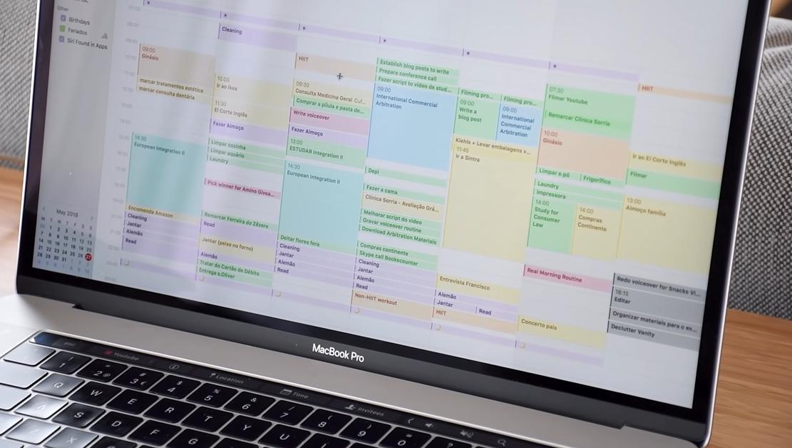 je agenda gebruiken om je planning te maken