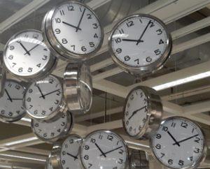 slim met tijd omgaan klokkken