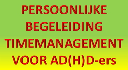 timemanagement add adhd begeleiding 1 op 1