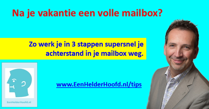 Volle emailbox inbox zero