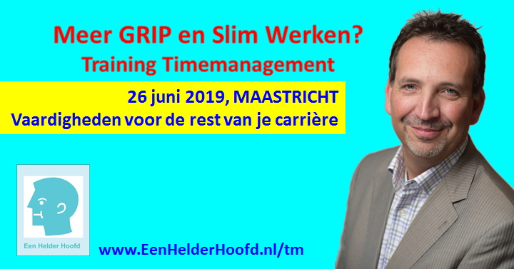 maastricht timemanagement training cursus